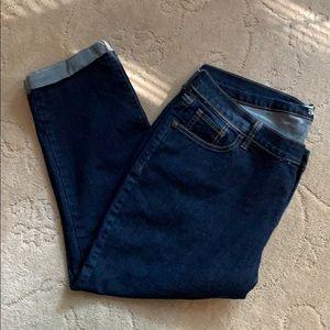 Women's Old Navy sweetheart crop jeans